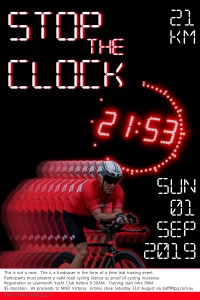 Stop The Clock v2 poster