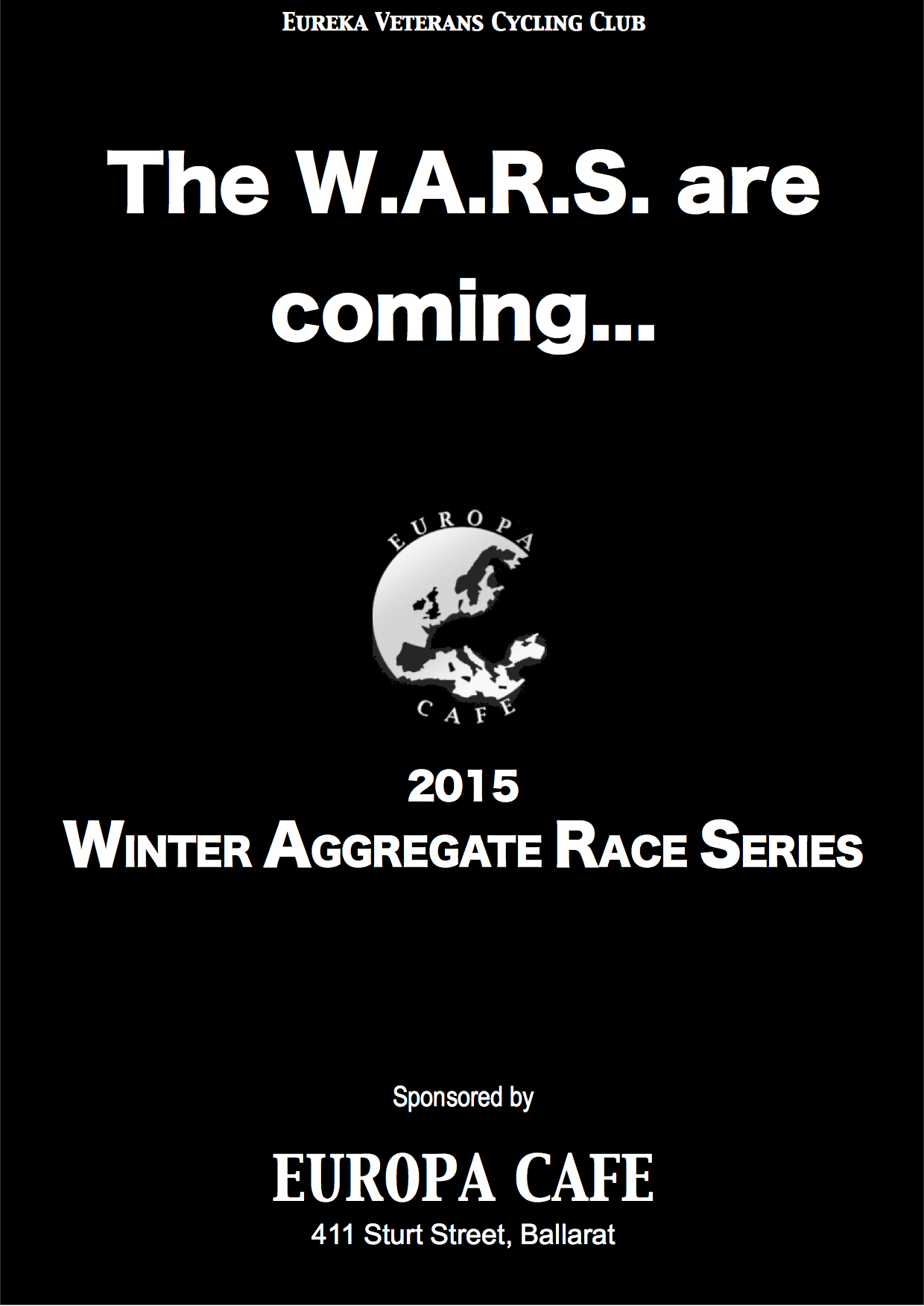 W.A.R.S. 2015 poster