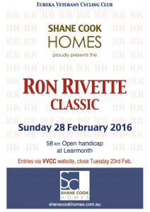 EVCC open - Ron Rivette 2016
