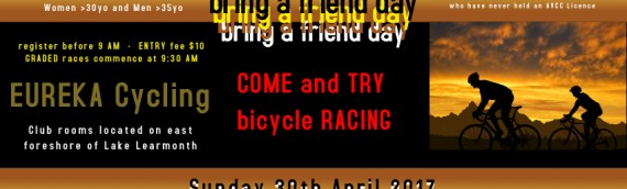 Bring a Friend Day – 30th April 2017