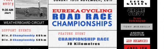November 19, 2017 – Championships Day, scratch racing – Weatherboard