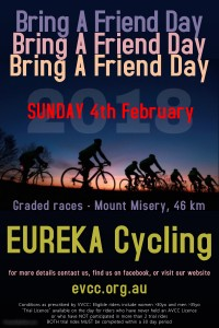 EVCC - Bring A Friend Day 2018 - poster