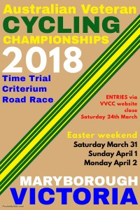 AVCC 2018 championships - poster