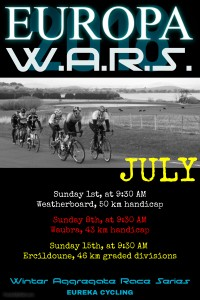 EVCC 2018 WARS July poster