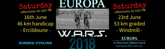 June 23, 2018 – EUROPA cafe W.A.R.S. round 3 – handicap, Windmill
