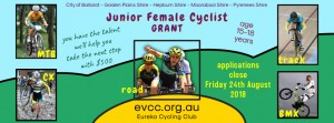 EVCC Junior Female Cyclist - slide