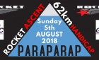August 5, 2018 - Rocket Ascent Hcp - Geelong & Surf Coast CC - inter club event 62 Km