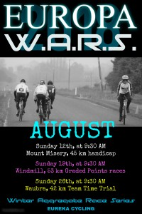 EVCC 2018 WARS August poster