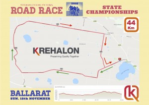 VCV 2018 Champs RR map - 44 Km