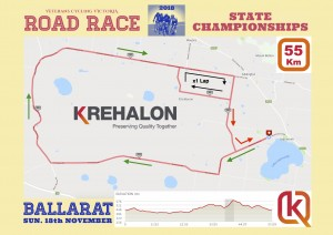 VCV 2018 Champs RR map - 55 Km