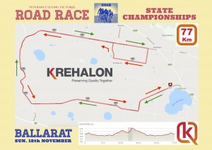 VCV 2018 Champs RR map - 77 Km