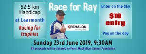 2019 Rescheduled Race for Ray - slide