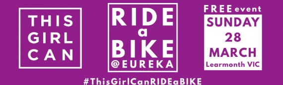 This Girl Can – RIDE A BIKE – Sunday 28th March